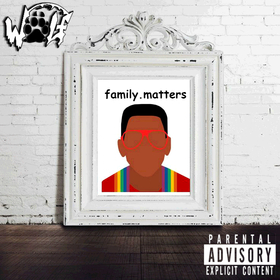 W.O.L.F. (We Onli Luv Family) DJ Louie V front cover