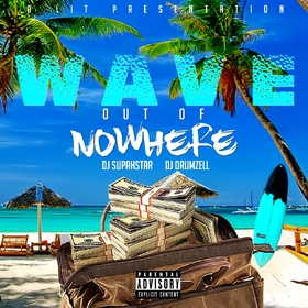 Out Of Nowhere Waves front cover