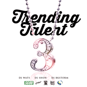 Trending Talent 3 DJ Wats front cover