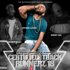 Certified Track Runnerz 18 Dj Tony Pot front cover
