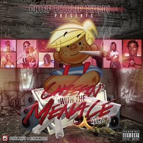 Chiefin With The Menace 2 SouthSideShy front cover