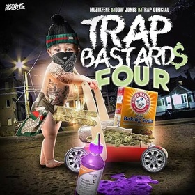 Trap Bastards 4 DJ Dow Jones front cover