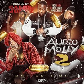 Audio Molly 2 (Hosted by Calico Jonez) DJ Dow Jones front cover