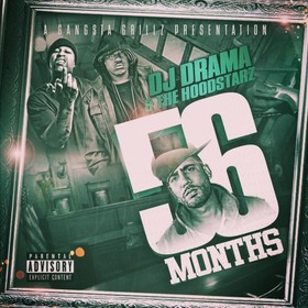 56 Months The Hoodstarz front cover