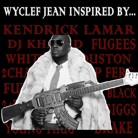 Wyclef Jean Inspired By... Wyclef Jean front cover