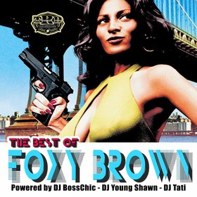 The Best Of Foxy Brown  DJ Boss Chic front cover