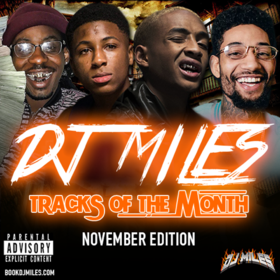 Tracks of the Month (November Edition) 2017 DJ Miles front cover