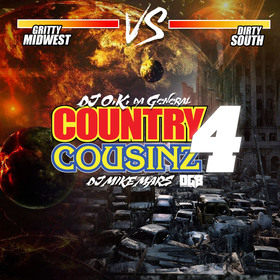 Country Couzins 4 DJ O.K. General front cover