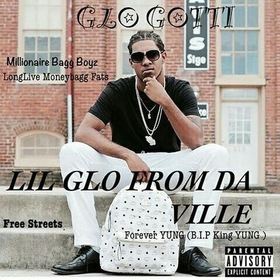 LIL GLO FROM THE VILLE glo gotti front cover