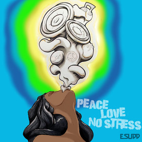 Peace, Love, No Stress DJ E.Sudd front cover