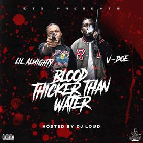 Blood Thicker Than Water V1 Lil Almighty front cover