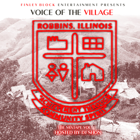 Voice Of the Village (FBE Mixtape Vol. 1) KO Cheeks  front cover