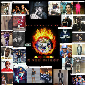 GLOBAL TAKEOVER MIXTAPE BAGCHASERS ENT front cover