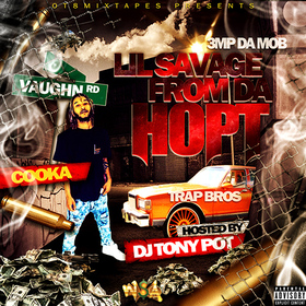 Lil Savage From Da Hopt Cooka864 front cover