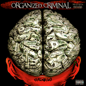 Organized Criminal R.Genius front cover