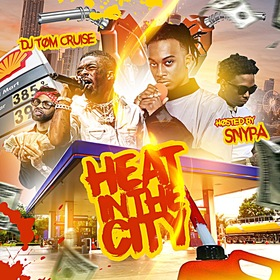 Heat In The City DJ Tom Cruise front cover