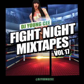 Dj Young Cee Fight Night Mixtapes Vol 17 Dj Young Cee front cover