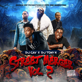 Street Merger Vol. 2 DJ Tony H front cover