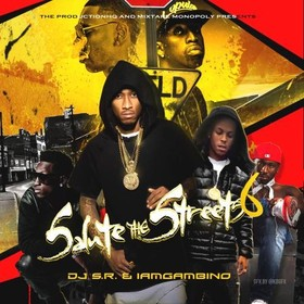 Salute The Streets 6 GambinoATL front cover