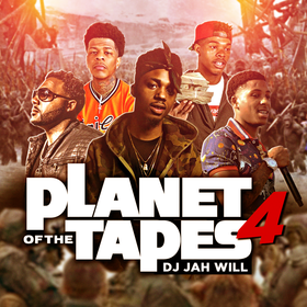 Planet Of The Tapes 4 DJ Jah Will front cover