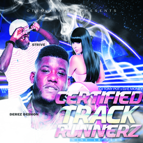 Certified Track Runnerz 19 Dj Tony Pot front cover