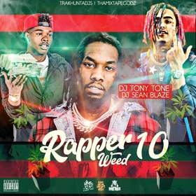 Rapper Weed 10 DJ Tony Tone front cover