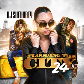 Flooding The City 24 DJ SixThirty front cover