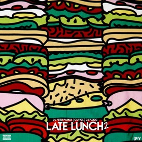 Late Lunch 2 GuyATL front cover