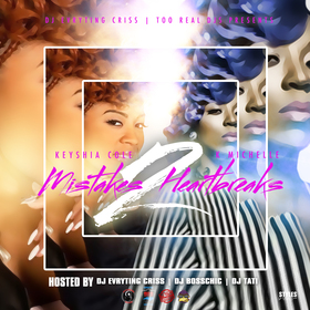 Keyshia Cole & K Michelle-Mistakes 2 Heartbreaks DJ Evryting Criss front cover