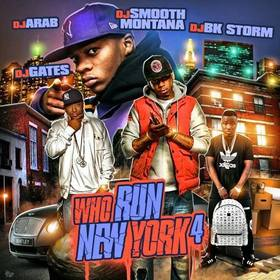 Who Run New York 4 DJ Smooth Montana front cover