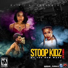 Stoop Kidz of the New Wave Vol. 1 Dj K.i.D  front cover
