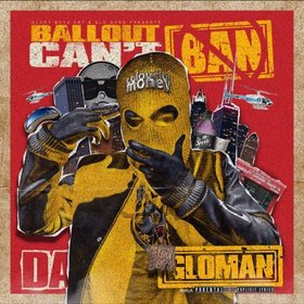 Can't Ban Da Glo Man Ballout front cover