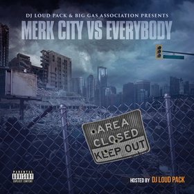 Merk City Vs. Everybody DJ Loud Pack front cover