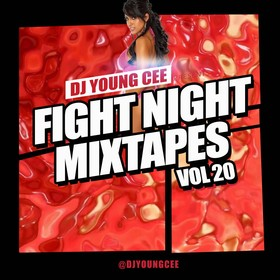Dj Young Cee Fight Night Mixtapes Vol 20 Dj Young Cee front cover
