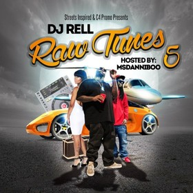 Raw Tunes 5 DJ Rell front cover