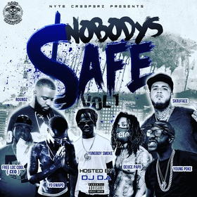 Nobody's Safe Vol.1 Nyte Cr33p3rz front cover