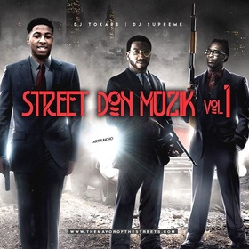 Street Don Muzik Vol. 1 DJ Tokars front cover