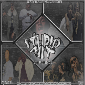 Stupid Mix DJ Nuk Nuk front cover