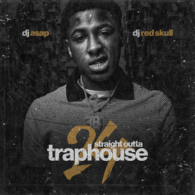 Straight Outta Trap House 24 DJ ASAP front cover