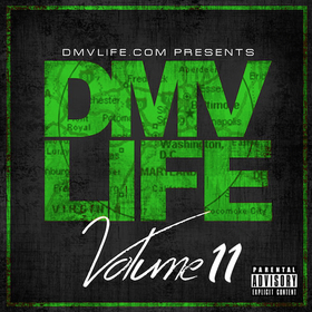 DMV LIFE Mixtape Vol. 11 DJ Dirty Yella front cover