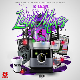 Lean Mixes Vol.2 B-Lean front cover