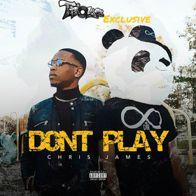 Khris James - Dont Play TyyBoomin front cover
