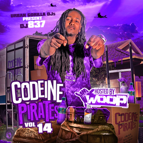 Codeine Pirates 14 (Hosted By Woop) [Chopped & Screwed] DJ 837 front cover