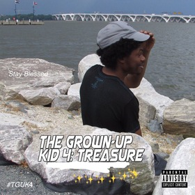 The Grown-Up Kid iV: Treasure Derion Jai front cover