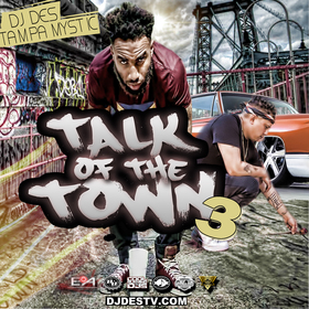 Talk Of The Town 3 DJ DES front cover