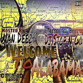 Welcome To Alabama Wan Deezy front cover