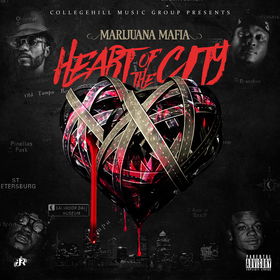 T-Raw DastateGreat (Marijuana Mafia)- Heart Of The City DJ Infamous front cover
