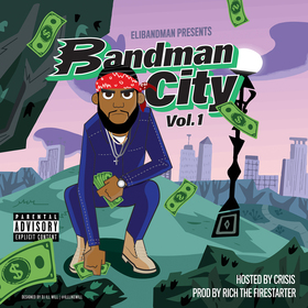 Bandman City Vol. 1 Eli Bandman front cover