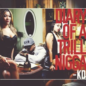Diary Of A Trill Nigga KD front cover