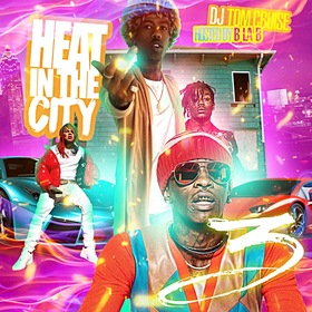 Heat In The City 3 DJ Tom Cruise front cover
